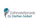 Zeichen, zweifarbig, Zeichen, Zeichnung, Zahn, Zahnarztpraxis, Logo