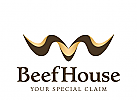 Zeichen, Symbol, Steakhouse, Restaurant, Beef, Rind,