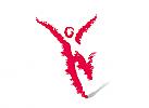 Zeichen, Symbol, Mensch, Läufer, Freudenlauf