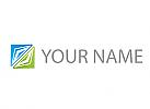 Rechteck aus Dreiecken, Logo