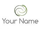 Vier Kreise, Wellen, Linien, Logo
