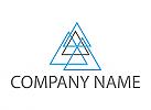 Viele Dreiecken, Bau, Logo