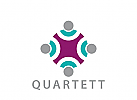 X, Menschen, Gruppe, Quartett