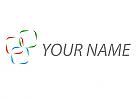 Drei Rechtecke, Netzwerk, Logo