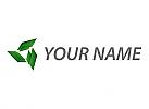 Viele Rechtecke, Pfeile, Logo
