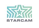 Zeichen, zweifarbig, Signet, Symbol, Stern, Kamera, Fotograf, Logo