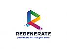 Ö, Zeichen, Buchstabe R, Pixel, Polygon, Softwate, IT, Marketing, Media, Bildung, Daten, Entwicklung Logo