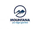 Ö, Zeichen, Berge, Urlaub, Urlaub in den Bergen, Kreis Logo