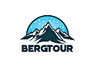 Ö, Berg, Reise, Ski, Camping, Wandern, Sport Logo