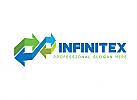 Ö, Zeichen, Pfeil, Finanzen, Business, Bank, Verbindungen, Investieren, Markt, Infinity, Unendlichkeit Logo