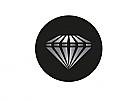 Zeichen, zweifarbig, Diamant, Brillant, Luxus, Logo