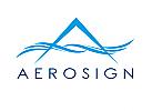 Zeichen, Signet, Symbol, Vogel, Flügel, Winkel, A, Logo