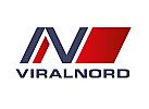 Zeichen, zweifarbig, Zeichnung, Parallelogramm, N, Logo