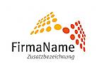 Logo Punktraster Dienstleister, Kommunikation