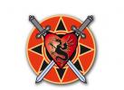 Wappen, Schild mit Drachen